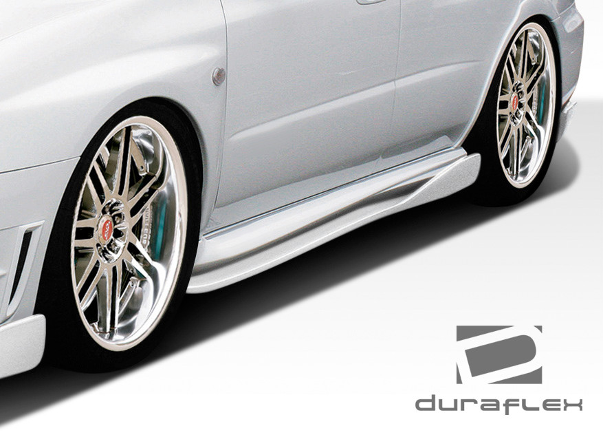 Furious Customs   2006-2007 Subaru Impreza WRX STI 4DR Duraflex C ...