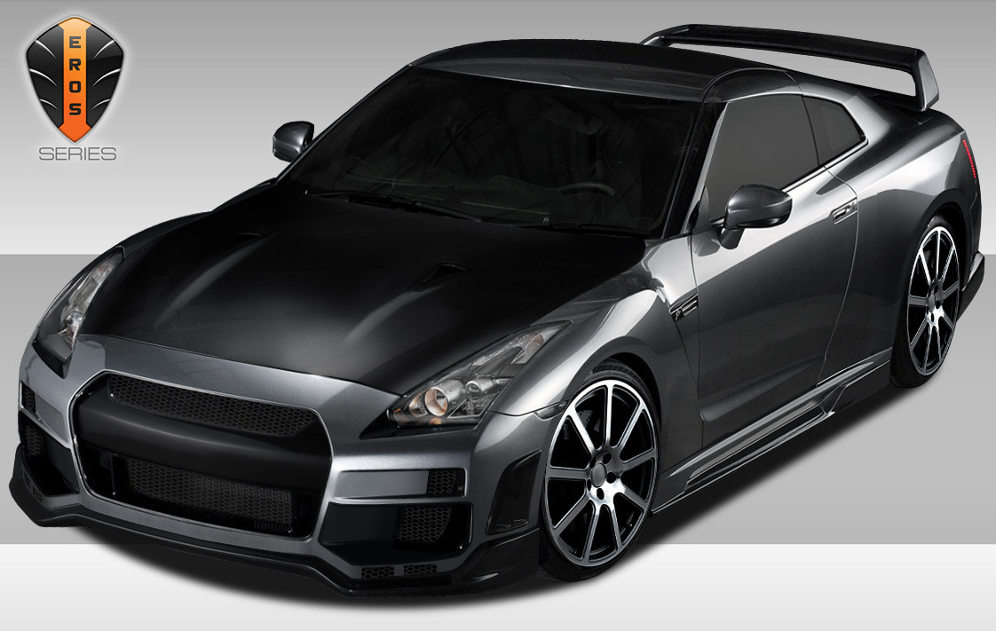 Furious customs 2009 2013 nissan gtr r35 eros version 1 for Nissan gtr bodykit