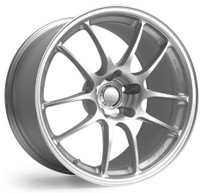 Enkei PF01 in Silver Finish - Center Cap and Valve Stem Included