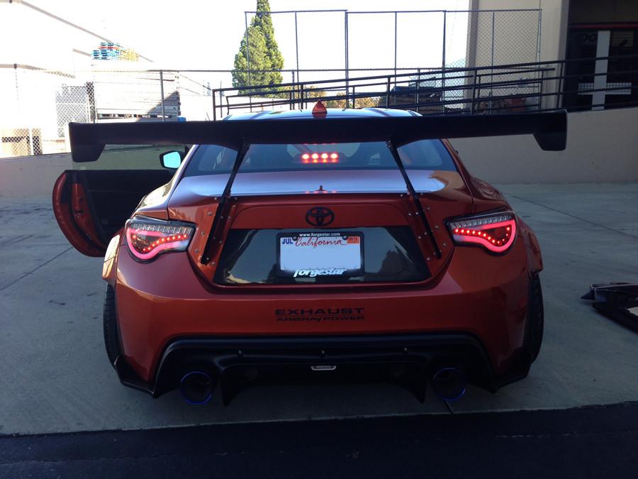 Spyder LED Tail Lights (JDM Red) - Scion FR-S / Subaru BRZ ...