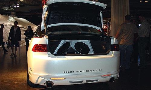 Furious Customs  JP USA Full Lip Kit  Acura TSX 0305
