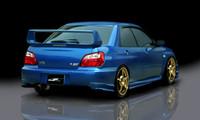 JP USA 5-Piece Polyurethane Full Lip Kit - Subaru Impreza WRX STi 03-05 / GD