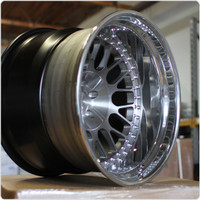 Rotiform 3 Piece Forged LVS Wheel - Concave Profile