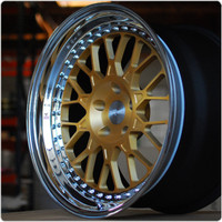 Rotiform 3 Piece Forged SJC Wheel - Flat Profile