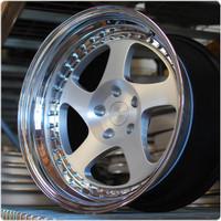 Rotiform 3 Piece Forged TMB Wheel - Flat Profile