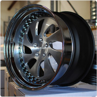 Rotiform 3 Piece Forged WRW Wheel - Convex Profile
