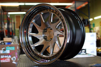 Rotiform 3 Piece Forged OZT Wheel - Concave Profile