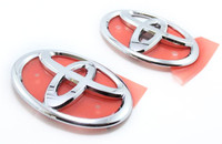 OEM Toyota Japan Front & Rear Badges JDM - Hood and Trunk Emblems