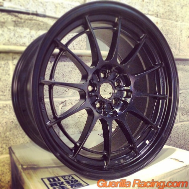 Actual pic of in stock Black finish