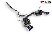 ARK Performance GRiP Cat-Back Tip Exhaust - Subaru WRX / STI 11-15 Sedan
