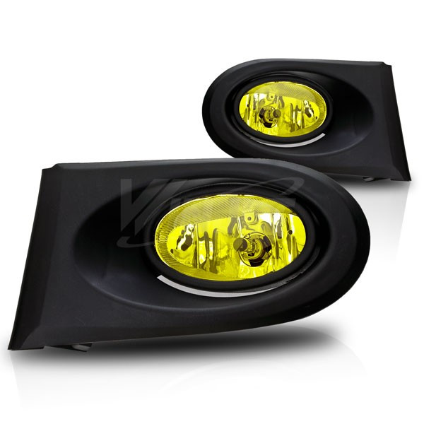 winjet fog lights yellow acura rsx 02 04 furious customs. Black Bedroom Furniture Sets. Home Design Ideas