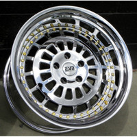 "ESM 015 Wheel - 19x9.5"" -Platinum Finish"