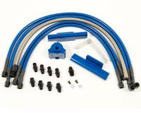 Agency Power High-Flow Fuel Rail Kit BLUE - Subaru WRX 02-07