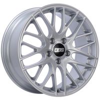 BBS CS 18x8 5x114.3 ET40 Sport Silver Wheel -82mm PFS/Clip Required