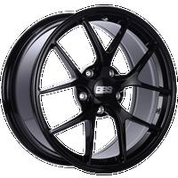 BBS FI 19x8.75 5x130 ET50 CB71.6 Gloss Black Wheel