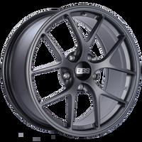 BBS FI 19x8.75 5x130 ET50 CB71.6 Satin Titanium Wheel