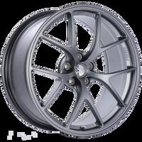 BBS FI 19x8.75 5x108 ET18 CB67 Satin Titanium Wheel