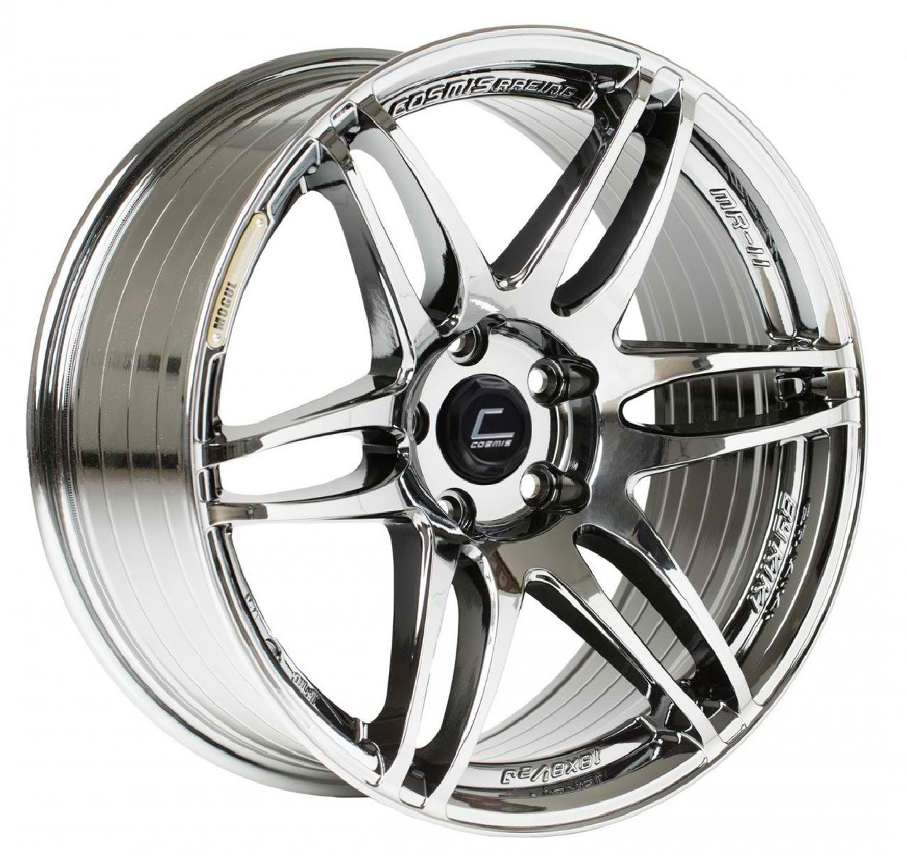 Cosmis Racing MRII Wheel - Black Chrome