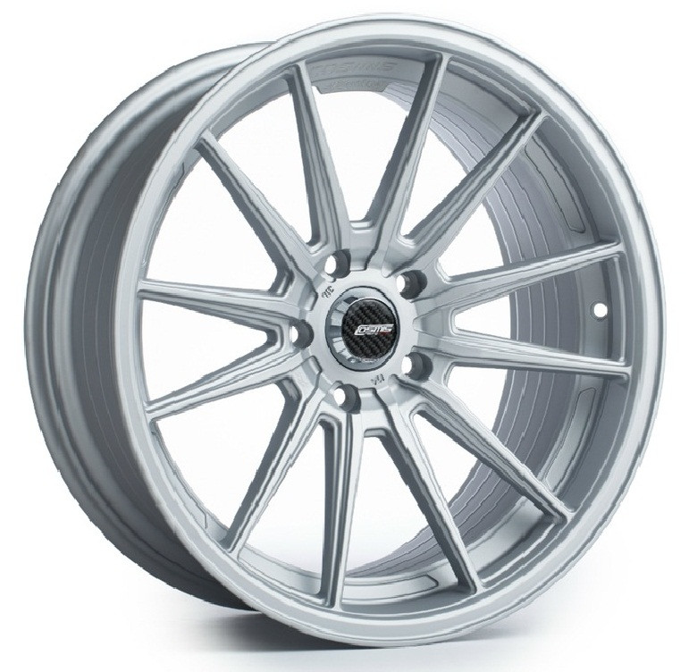 Cosmis Racing R1 Wheel - Matte Silver