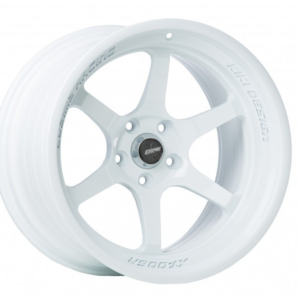 White Cosmis Racing XT-006R Wheel
