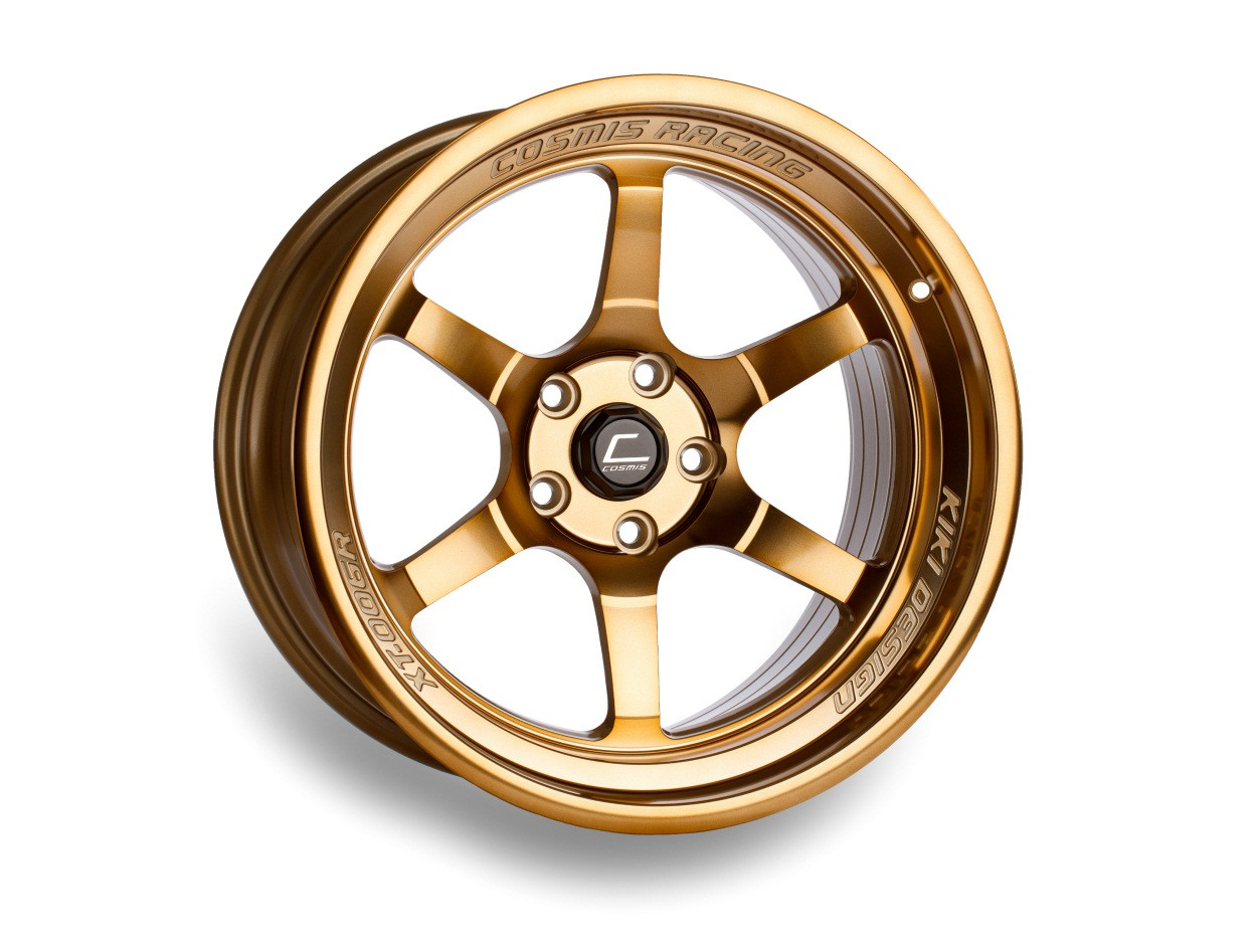 Hyper Bronze Cosmis Racing XT-006R Wheel
