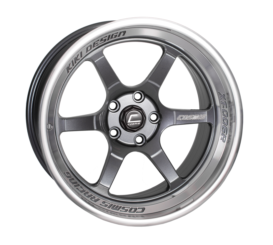 Gunmetal with Machined Lip Cosmis Racing XT-006R Wheel