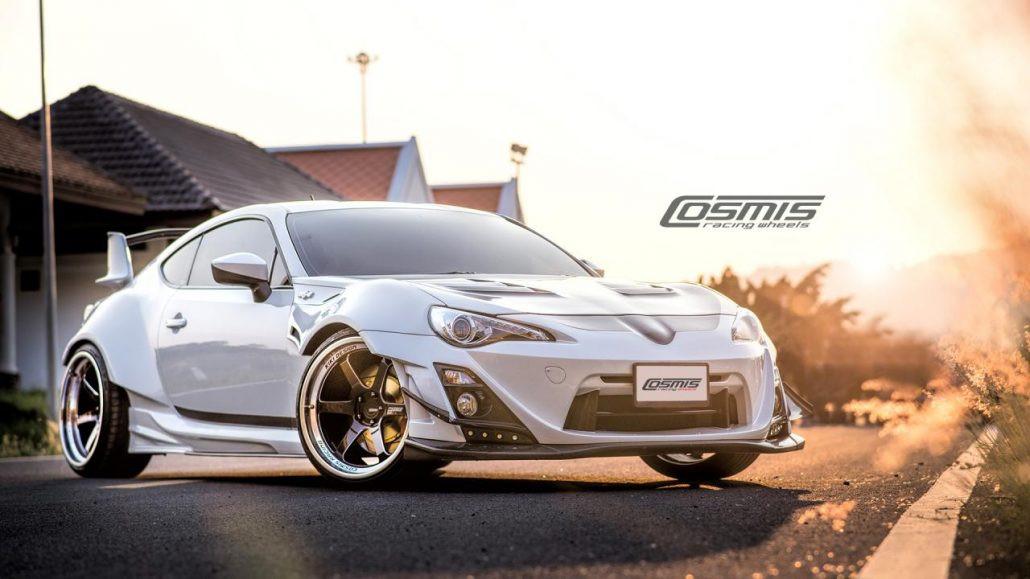 Cosmis Racing XT-006R Wheel - Black with Machined Lip