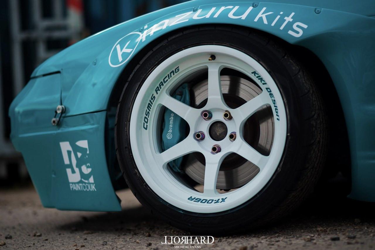 Cosmis Racing XT-006R Wheel - White