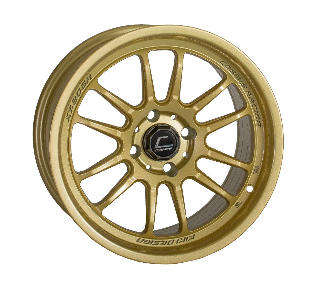 "Cosmis Racing XT-206R Wheel in 15x8"" - Gold"