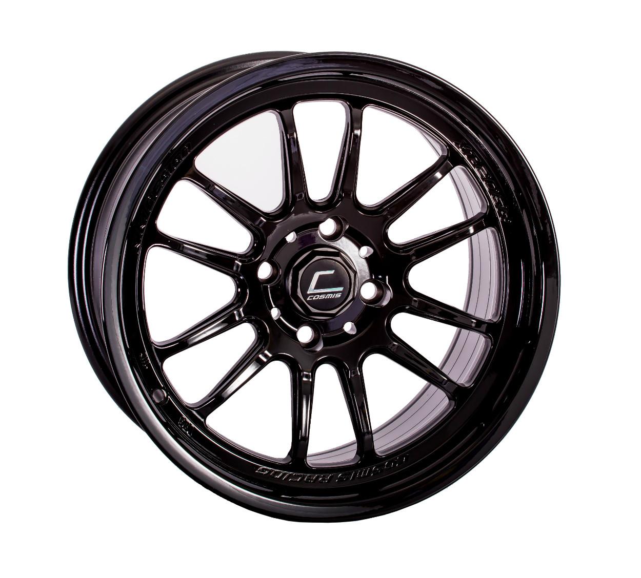 "Cosmis Racing XT-206R Wheel in 15x8"" - Black"