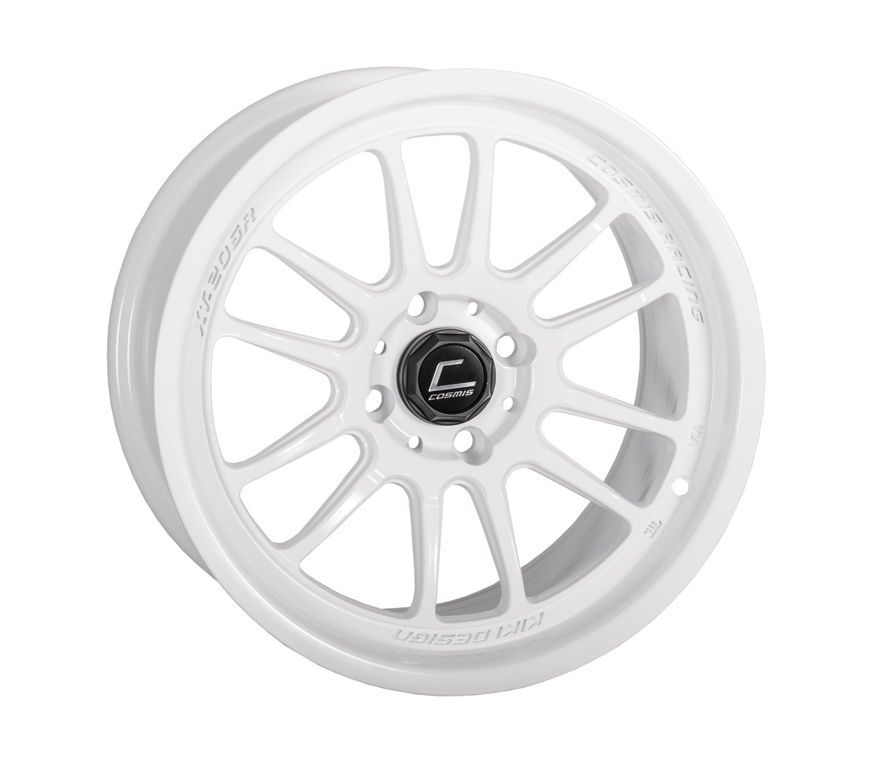 "Cosmis Racing XT-206R Wheel in 15x8"" - White"