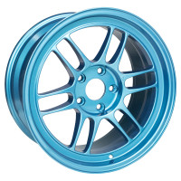 "Enkei RPF1 Wheel - 17x9"" +35 5x114.3 Emerald Blue"