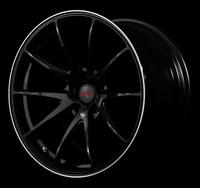 Volk Racing G25 Wheel - 19X10.0 +21 5x112 FORMULA SILVER / BLACK CLEAR