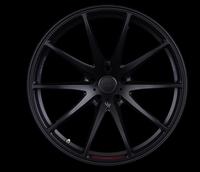 Volk Racing G25 EDGE Wheel - 20X9.5 +45 5x114.3 PRESSED MATTE BLACK / SPOKE DC