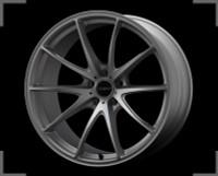 Volk Racing G25 EDGE Wheel - 20X10.0 +30 5x114.3 TITANIUM SILVER / SPOKE DC
