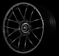 Volk Racing G27 Wheel - 20X9.5 +25 5x120 FORMULA SILVER / BLACK CLEAR