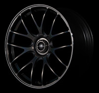 Volk Racing G27 Wheel - 20X10.0 +35 5x114.3 FORMULA SILVER / BLACK CLEAR