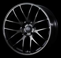 Volk Racing G27 PROGRESSIVE MODEL Wheel - 19X9.0 +25 5x112 PRESSED BLACK CLEAR