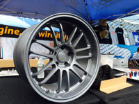 Volk Racing RE30 CSII Wheel - 18X10.0 +39 5x114.3 MATTE LIGHT GRAY