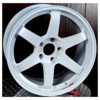 Volk Racing TE37SL Wheel - 18X10.0 +30 5x114.3 DASH WHITE
