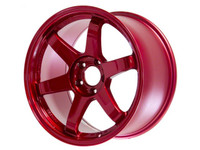 Volk Racing TE37SL Wheel - 18X10.0 +30 5x114.3 HYPER RED
