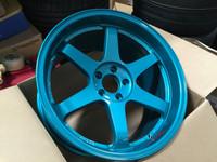 Volk Racing TE37SL Wheel - 18X10.0 +30 5x114.3 HYPER GREEN