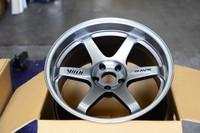Volk Racing TE37SL Wheel - 18X10.0 +30 5x114.3 TITANIUM SILVER