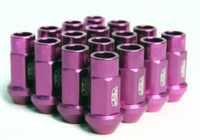Blox Racing Street Series Forged Lug Nuts - Purple 12 x 1.25mm - Set of 20