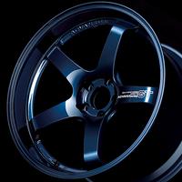 Advan GT PREMIUM VERSION Wheel - 20X9.0 +49 CENTERLOCK RACING TITANIUM BLUE & RING