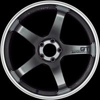 Advan GT Wheel - 18X10.0 +22 5x114.3 MACHINING & RACING METAL BLACK