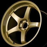 Advan GT PREMIUM VERSION Wheel - 18X10.5 +15 5x114.3 RACING GOLD METALLIC