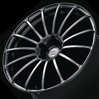 Advan MODEL F15 Wheel - 21X9.0 +32 5x120 PLATINUM BLACK