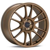 Enkei GTC01RR Wheel - 18x10.5 +15 5x114.3 Titanium Gold