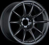 SSR GTX01 Wheel - 18x9.5 +45 5x100 Flat Black